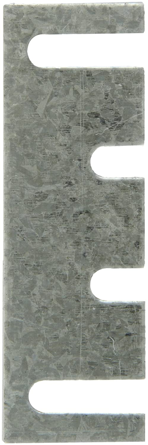 Rockwood HS44 Steel Hinge Shim, 1-7/16' Width x 4-1/2' Height x 0.065' Thick, Galvanized Coat Finish (Pack of 50)