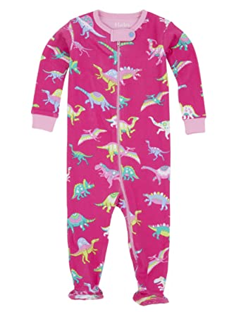 18da41e61dda Hatley Baby Girls Infant Footed Coverall Dinos Sleepsuit