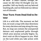 Follow Your Detour: Let Go of Your Pain, Conquer Your Fear & Find the Real  You