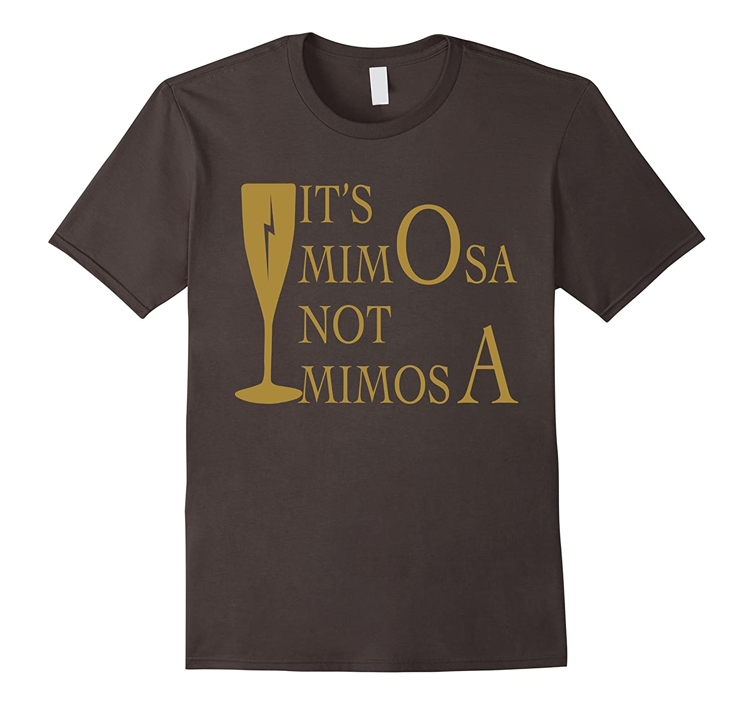 Women Tee - Its mi-mO-sa not mi-mo-sA-Vaci