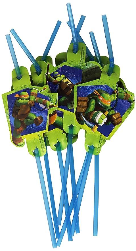 amscan - Cubertería para Fiestas Tortugas Ninja (RM552469)