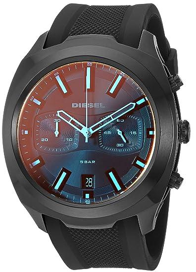 Diesel Reloj Cronógrafo para Hombre de Cuarzo con Correa en ...