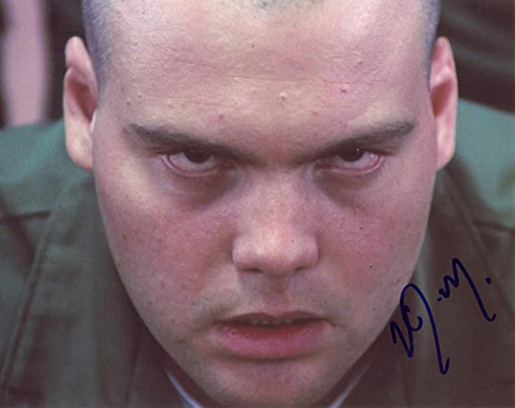 Vincent Donofriofull Metal Jacket Autograph Signed 8x10 Photo C