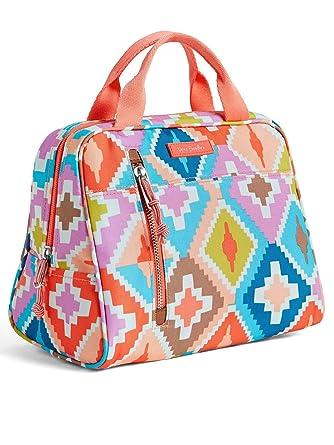 191ca1a0b8 Amazon.com  Vera Bradley Lighten Up Lunch Cooler Bag (Coral Hacienda  Diamonds)  Shoes