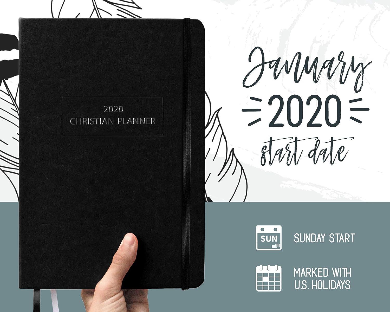 Amazon.com: El planificador cristiano 2020, Negro: Office ...