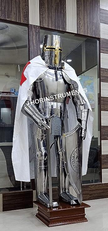 Amazon.com: Wearable Caballero Medieval crusador Full palo ...