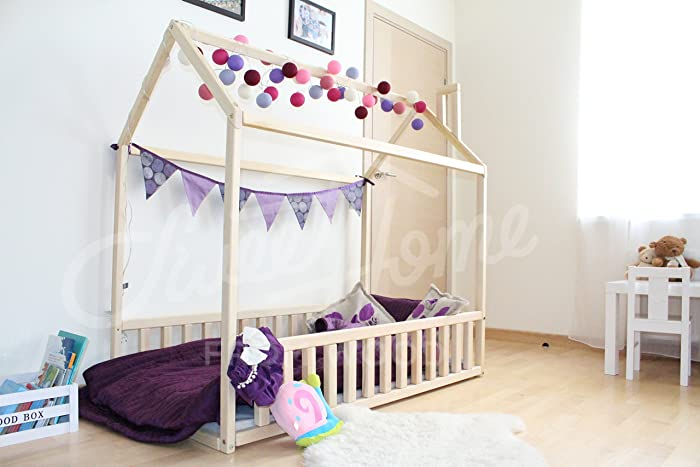 House Bed Bed House Montessori Bed Wood Bed Kid S Furniture