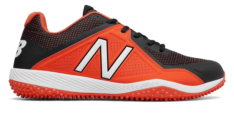 (ニューバランス) New Balance 靴シューズ メンズ野球 Turf 4040v4 Black with Orange ブラック オレンジ US 7.5 (25.5cm) B07589478W