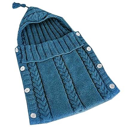 Gosear Saco de Dormir Infantil para Bebé Sobre 0-12M Azul