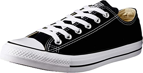 Converse Chuck Taylor All Star Core Ox, Chaussures mixtes Noir Noir , Hombres 7.5, Mujeres 9.5 Medium US EU