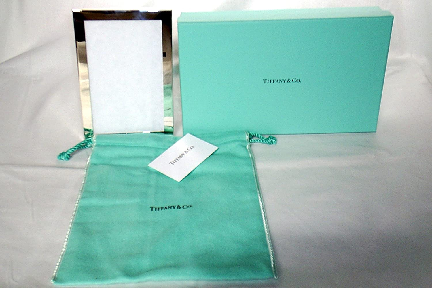 Amazon.com - Tiffany & CO. Sterling Silver Frame 4 x 6 - Single Frames