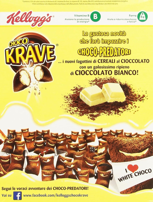 Kelloggs Cereales Krave Duo Choco - 2 Paquetes de 375 gr - Total: 750 gr: Amazon.es: Alimentación y bebidas