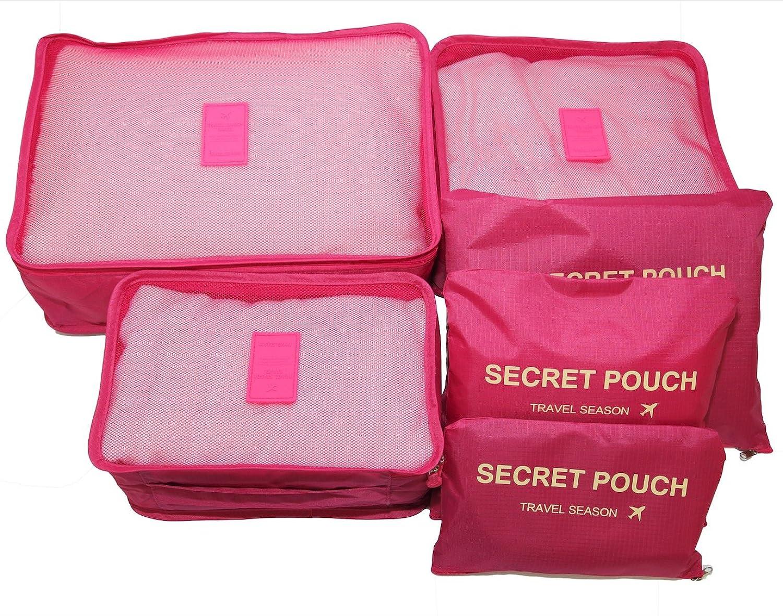 Travel Storage Luggage Organizer (Rose)