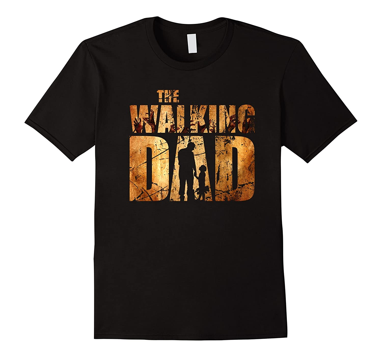 Mens Walking Dad T-shirt Gift Fathers Day-Vaci