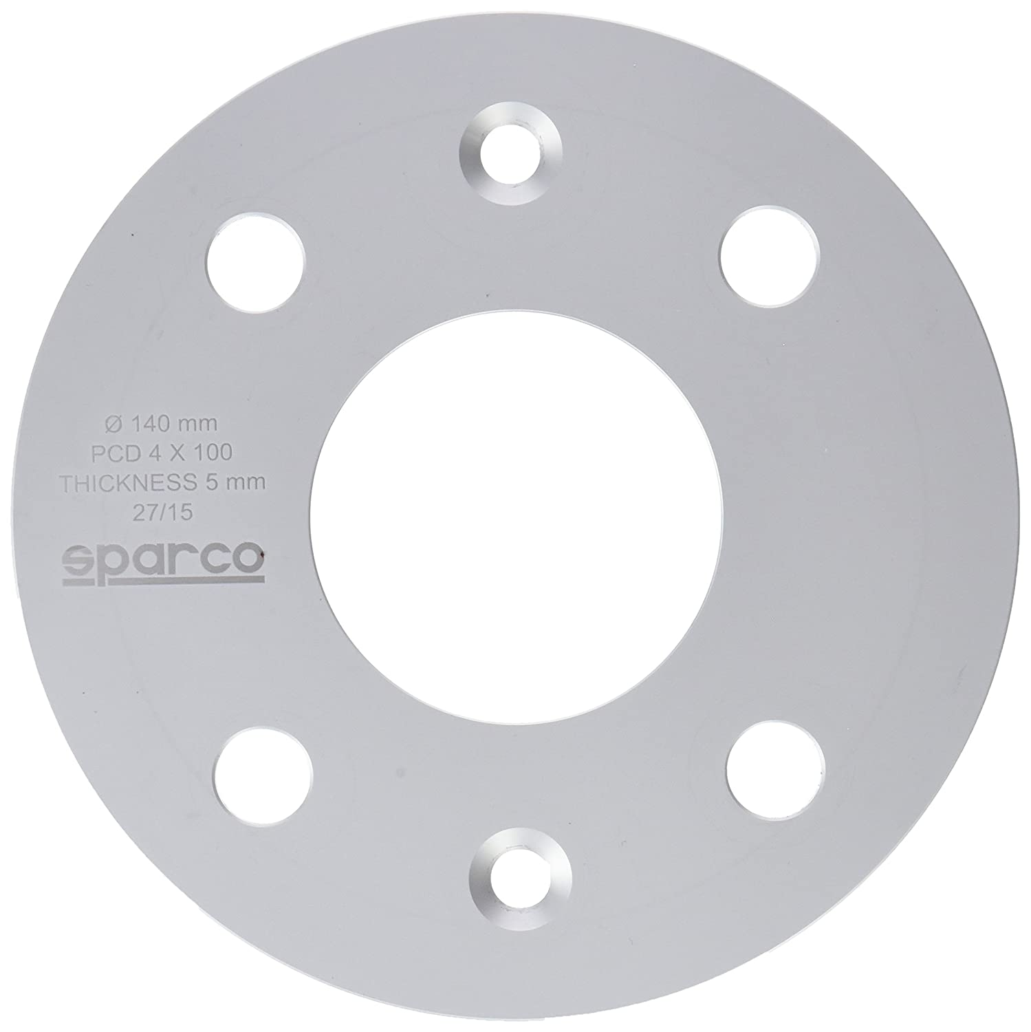 Sparco 051STB02 Separador, 5 mm 4 x 100 mm S051STB02