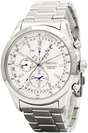 the best attitude ea284 42e6b [セイコー]SEIKO 腕時計 QUARTZ CHRONOGRAPH PERPETUAL クオーツ クロノグラフ パーペチュアルカレンダー  SPC123P1 メンズ [逆輸入]
