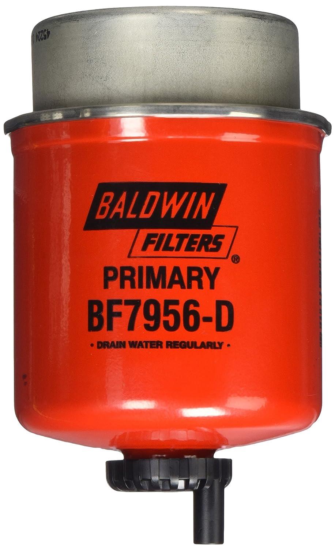 Baldwin Heavy Duty BF7956-D Fuel Filter, 5 x 3-1/2 x 5 In
