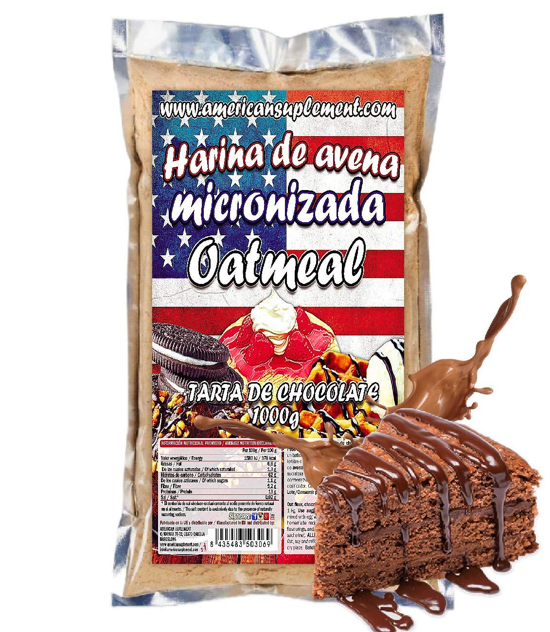 American Suplement - 1000 gr - Harina de Avena (COOKIES): Amazon ...