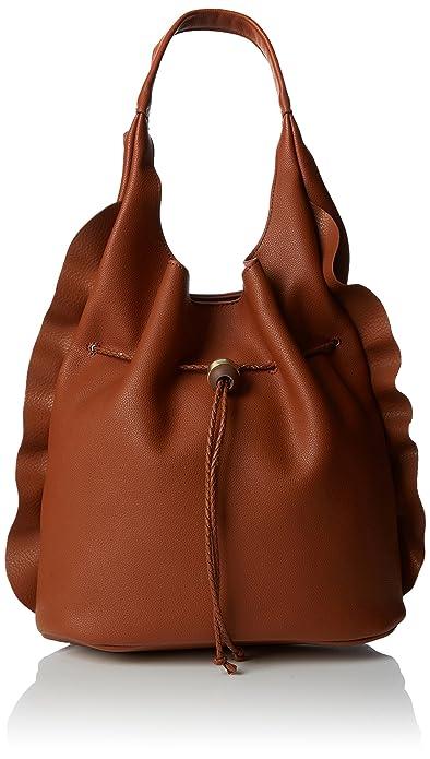 Nica Mari, Sacs portés épaule femme, Brown (Tan), 15x30x31 cm (W x H L)