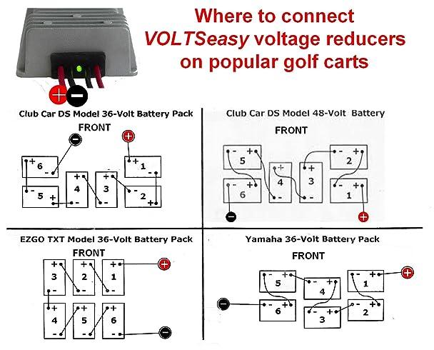 1999 club car voltage reducer wiring diagram 1999 club car