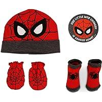 Marvel Avengers Spiderman Sombrero con guantes y botín Set de regalo