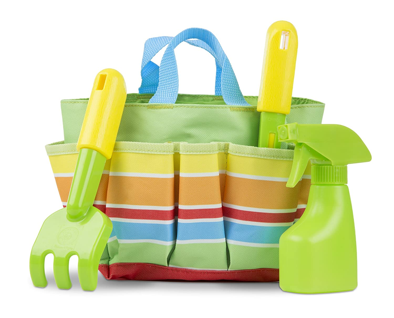 Melissa Doug Sunny Patch Giddy Buggy Toy Gardening Tote Set With Tools
