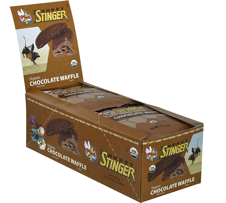 Honey Stinger Organic Waffle, Chocolate, 1.06 Ounce (Pack Of 16 ...