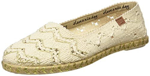 Gioseppo ARTESAN, Alpargatas Mujer, Dorado, 38 EU: Amazon.es: Zapatos y complementos