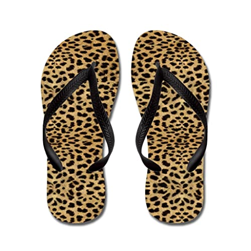 Amazon.com | Lplpol Cheetah Print Flip Flops for Kids and Adult Unisex Beach Sandals Pool Shoes Party Slippers | Sandals