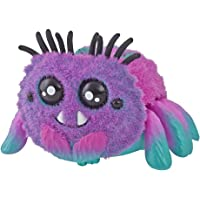 Yellies Spider - Toofy Spooder - Sound Activated Chasing Fluffy Pink Toy Spider - Collectible Pet - Kids Toys - Ages 5+
