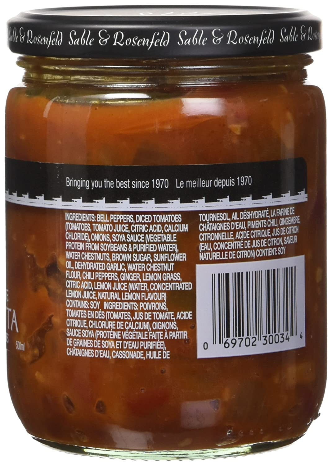 Amazon.com : Sable and Rosenfeld Red Pepper Thai Bruschetta, 16.0 Ounce (Pack of 6) : Grocery & Gourmet Food