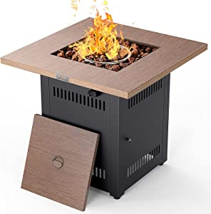 Propane Fire Pit Table, LEGACY HEATING 28