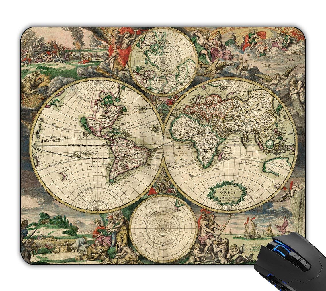 Non Slip Rubber Mousepad Ouija Board Mouse Pad Retro Pcb Circuit Boardmouse 180mm X 220mm 2mm Computers Accessories