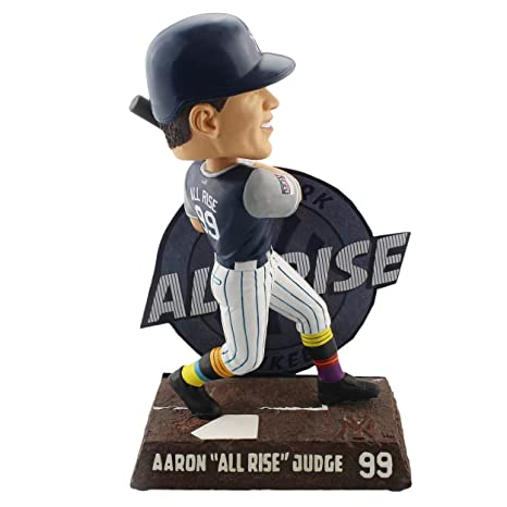 1c005031aea Image Unavailable. Image not available for. Color  Forever Collectibles Aaron  Judge New York Yankees Players Weekend - All Rise Bobblehead MLB