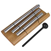 Deals on Woodstock Chimes Zenergy-Trio Musically Tuned Chime