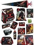 Star Wars Schulranzen Set 21tlg. Sporttasche GR Schreibtischunterlage Schultüte 85cm Scooli Campus Up SWHZ8252