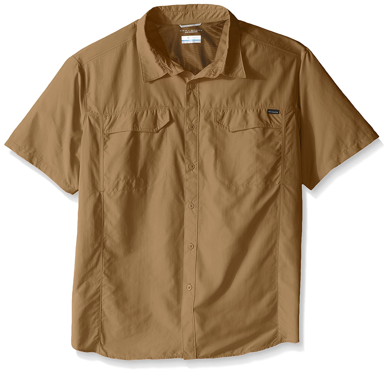 Columbia Men's Big Silber Ridge Short Sleeve Shirt