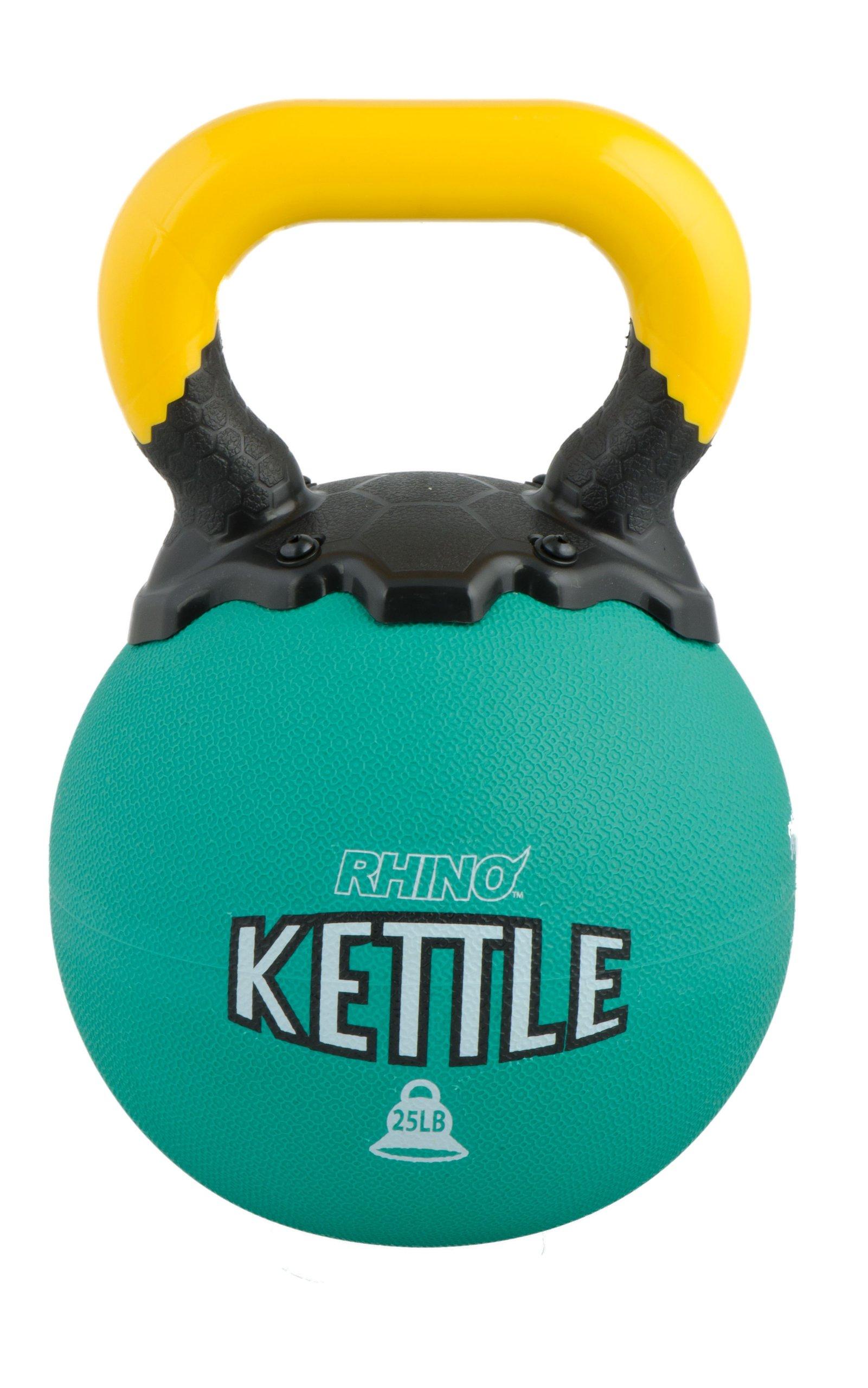 Champion Sports Rhino Kettle Bell Weights, 25-Pound