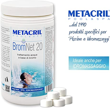 Metacril Easy Kit Bromo para hidromasajes y Piscinas. Tratamiento ...
