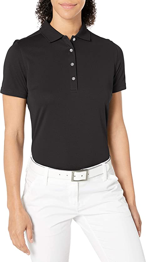 UNDER ARMOUR Women/'s Corporate Performance Polo Shirt NWT Heather Gray LARGE