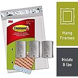 Command Jumbo Universal Picture Hanger, 3 Hangers (PH048-3NA) - Easy Open Packaging