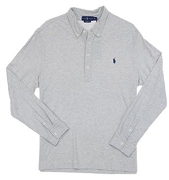Polo Ralph Lauren Men's Featherweight Mesh Long Sleeve Polo Shirt-Taylor-2XL