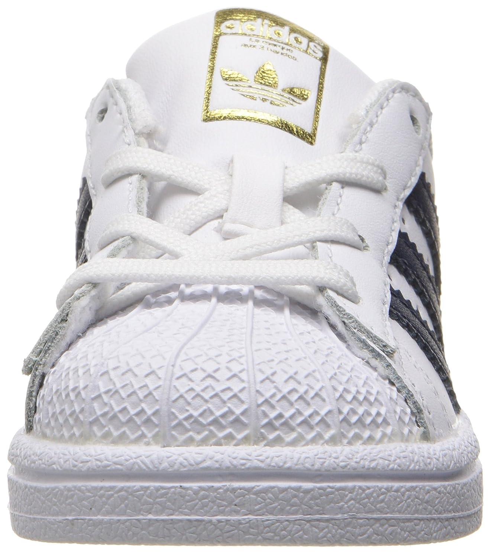 Adidas Kids superstar zapatillas zapatilla blanco 17414 / Collegiate Navy