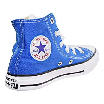 Boys Kids Chuck Taylor All Star Hi Top Fashion Sneaker Shoe, Soar, 2