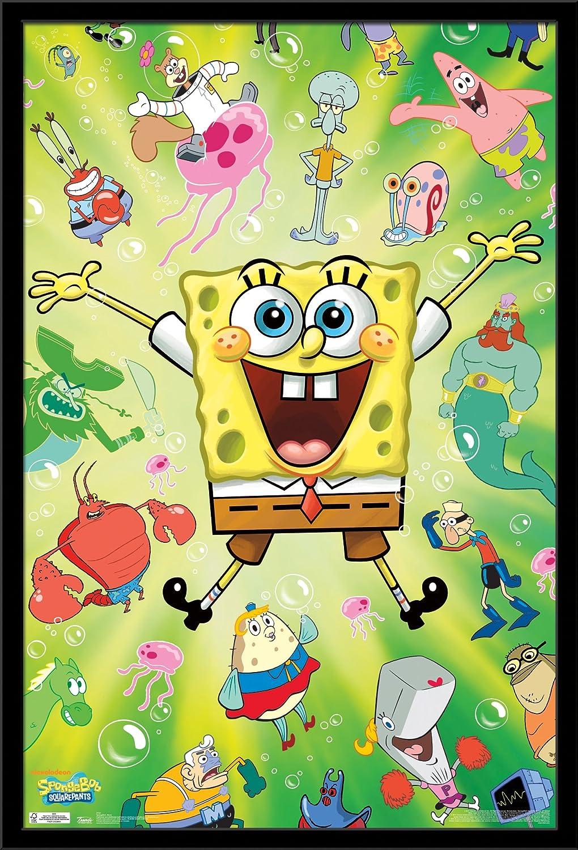 Amazon.com: Trends International Spongebob Burst Wall Poster 22.375 ...