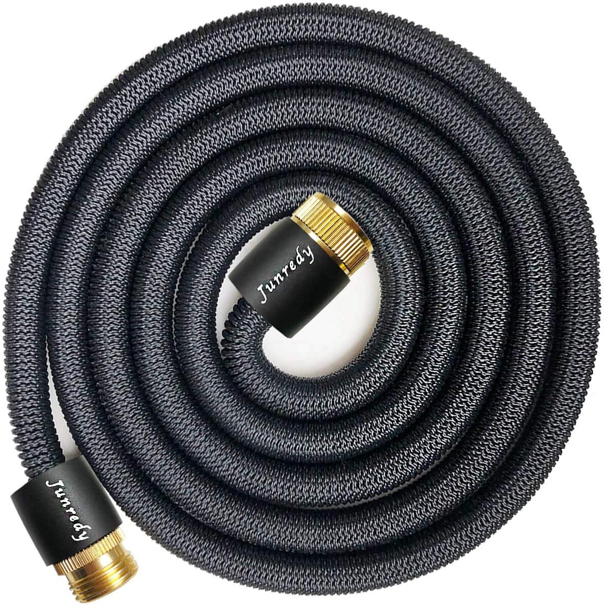 Junredy Water Hose Expandable Garden Hose - Durable 3750D Fabric | 3/4