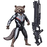 Endgame Titan Hero Series Rocket Raccoon 12-Inch-Scale Super Hero Action Figure with Titan Hero Power FX Port