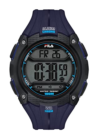 Quarz Digital 094 002 Fila 38 Unisex Blau Armbanduhr Filactive uT3JcFK1l