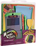 Boogie Board Magic Sketch Color LCD Writing Tablet + 4 Different Stylus and 9 Double-Sided Stencils for Drawing, Writing, and Tracing eWriter Ages 3+