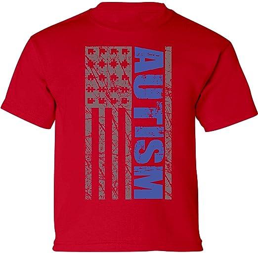 08d77732 Amazon.com: Vizor Autism Flag Toddler Shirt Autism Awareness Shirts for Kids  Autism Gifts: Clothing